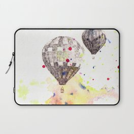 Hot Air Balloons Painting Laptop Sleeve
