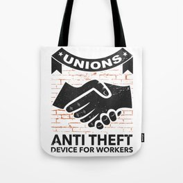 Labor Union of America Pro Union Worker Protest Light Tote Bag