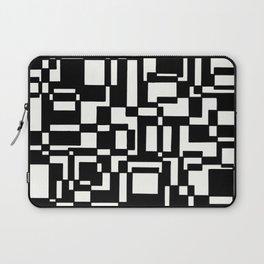 Squares Black´n´White Laptop Sleeve