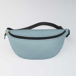 Tranquil Blue Solid Color Inspired by Behr Crashing Waves S450-4 Fanny Pack