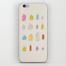 Transparent Houses iPhone & iPod Skin