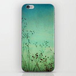 Between Autumn and Winter iPhone Skin