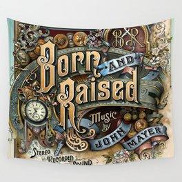 john mayer born raised tour 2020 ngamin Wall Tapestry