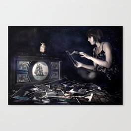 Pictures of you Canvas Print