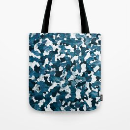 Surfing Camouflage #3 Tote Bag