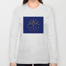 Indiana: The Crossroads of Abortion Access Long Sleeve T-shirt