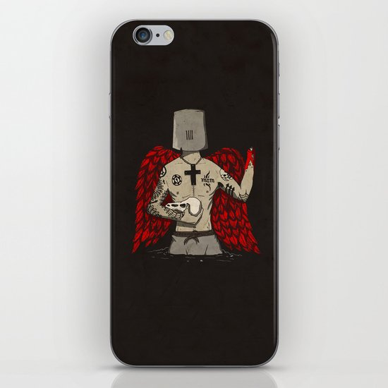 ANALOG zine wings iPhone & iPod Skin