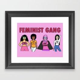 Feminist Gang Framed Art Print