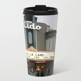 Lido Theatre - Newport Beach Metal Travel Mug