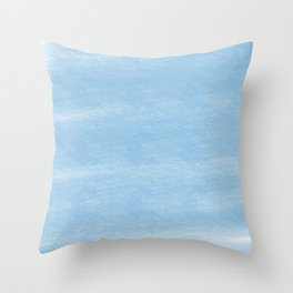 Chalky background - blue Throw Pillow