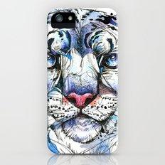 Icy Snow Leopard iPhone (5, 5s) Slim Case