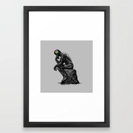 iThink Framed Art Print