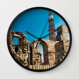 Qutb Minar Wall Clock