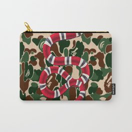 Bape Camo Snake Carry-All Pouch