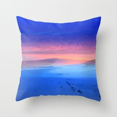 Blue is the colour Throw Pillow