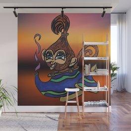 Genie Monkey Wall Mural