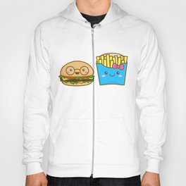 We go together like burger and fries Hoody