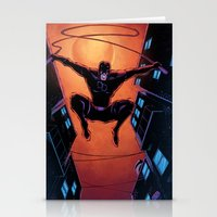 daredevil Stationery Cards featuring DareDevil by J Skipper