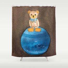 Artbear and Neptune Shower Curtain