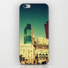 Chicago Retro Skyline ~ architecture iPhone & iPod Skin