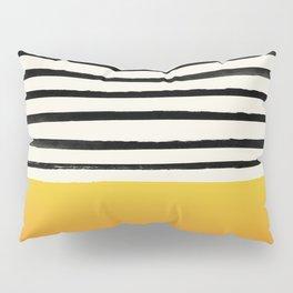 Sunset x Stripes Pillow Sham