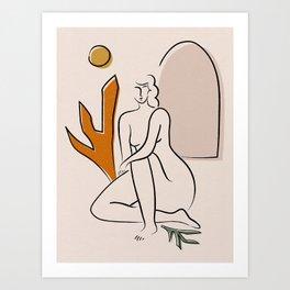 __desert in me Art Print
