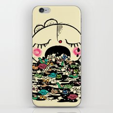 Save the fishes iPhone & iPod Skin