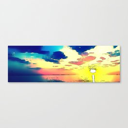 Heaven or Lies - ILL Design - Roth Gagliano Photography Canvas Print