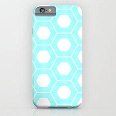 Nieuwland Powder Blue Hexagons Pattern iPhone 6s Slim Case