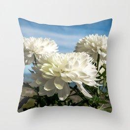 Naturally Floral Throw Pillow