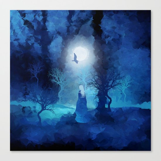 The Magician by Viviana Gonzales and Paul Kimble Canvas Print
