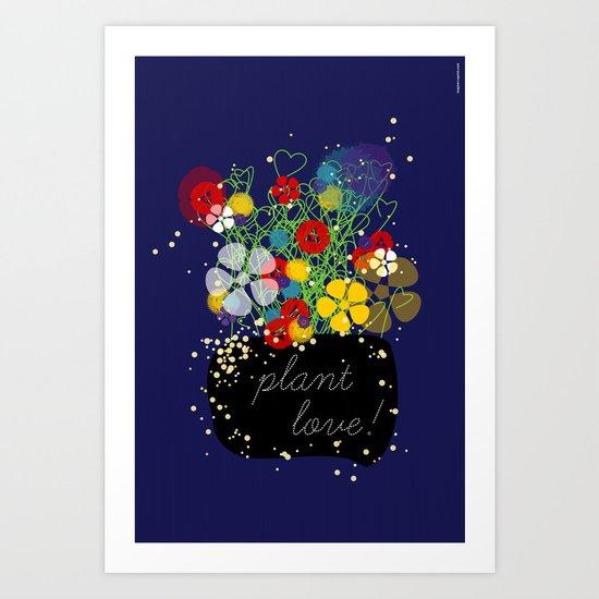 Plant Love! Art Print