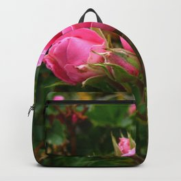 Hot Pink Rose Cluster Backpack