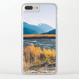 Alaskan Autumn - Kenai Fjords National Park Clear iPhone Case