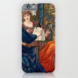 Edward Burne-Jones - Laus Veneris iPhone Case
