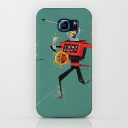 The Time Travelling Pirate iPhone Case