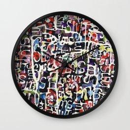 SLUT POWER Wall Clock
