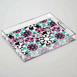 Tutti Fiori (pink) Acrylic Tray
