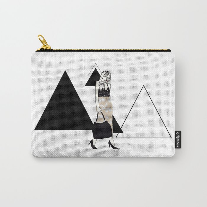 Bunny Skirt Carry-All Pouch