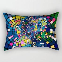 Mirror Abstract Background Rectangular Pillow