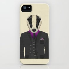 mr badger iPhone (5, 5s) Slim Case