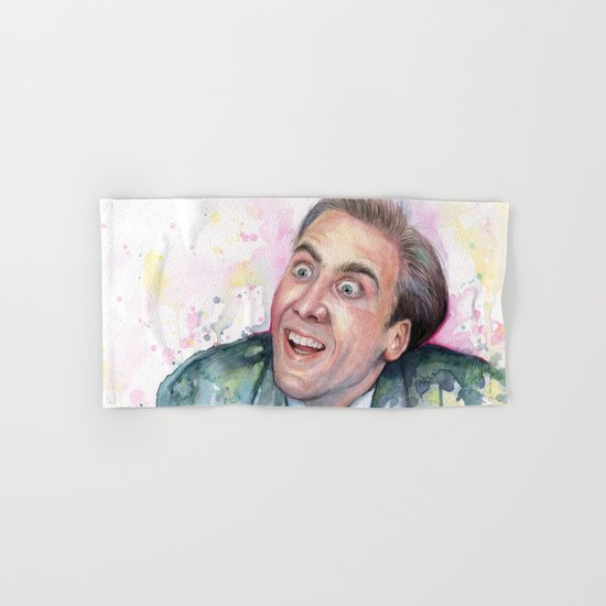 Nicolas Cage You Don't Say Hand & Bath Towel