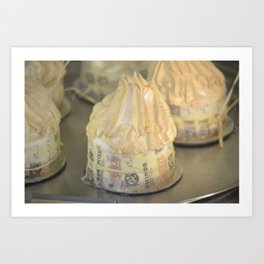 Cakes with icing Art Print
