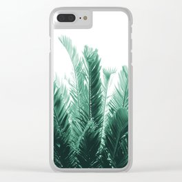 Tropical Leaves Dream #5 #tropical #decor #art #society6 Clear iPhone Case