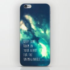 Keep some room in your heart iPhone & iPod Skin