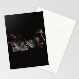 LAUGHING ON THE OUTSIDE Stationery Cards
