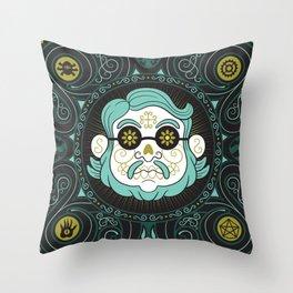 GUILLERMO DEL TORO - DIA DE MUERTOS TRIBUTE Throw Pillow