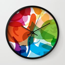 Merging Jolly Wall Clock
