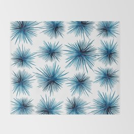Spiny Sea Urchins Throw Blanket