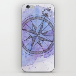 Find Me in the universe iPhone Skin